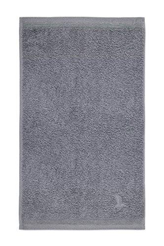 möve Superwuschel Gästetuch 30 x 50 cm aus 100% Baumwolle, stone