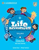 Life Adventures Level 4 Activity Book with Home Booklet and Online Activities: Going places