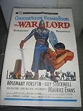 THE WAR LORD/ORIG. U.S. ONE SHEET MOVIE POSTER (CHARLTON HESTON)