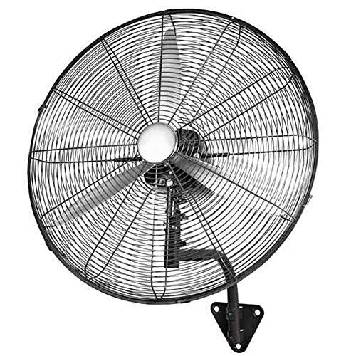 """CYY Mecánico Ventilador de Pared con 3 Velocidades / 280W Súper Gran Volumen de Aire,25""""/ 65cm Industrial Hogar Ventilador Eléctrico,para Restaurante Comercial Fábrica (Negro)"""