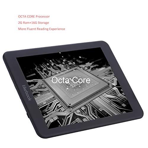 "BoyueLikebookMars7.8""電子書籍リーダー,2G+16G,グーグルプレイストア対応,ハードカバー,保護フィルム"