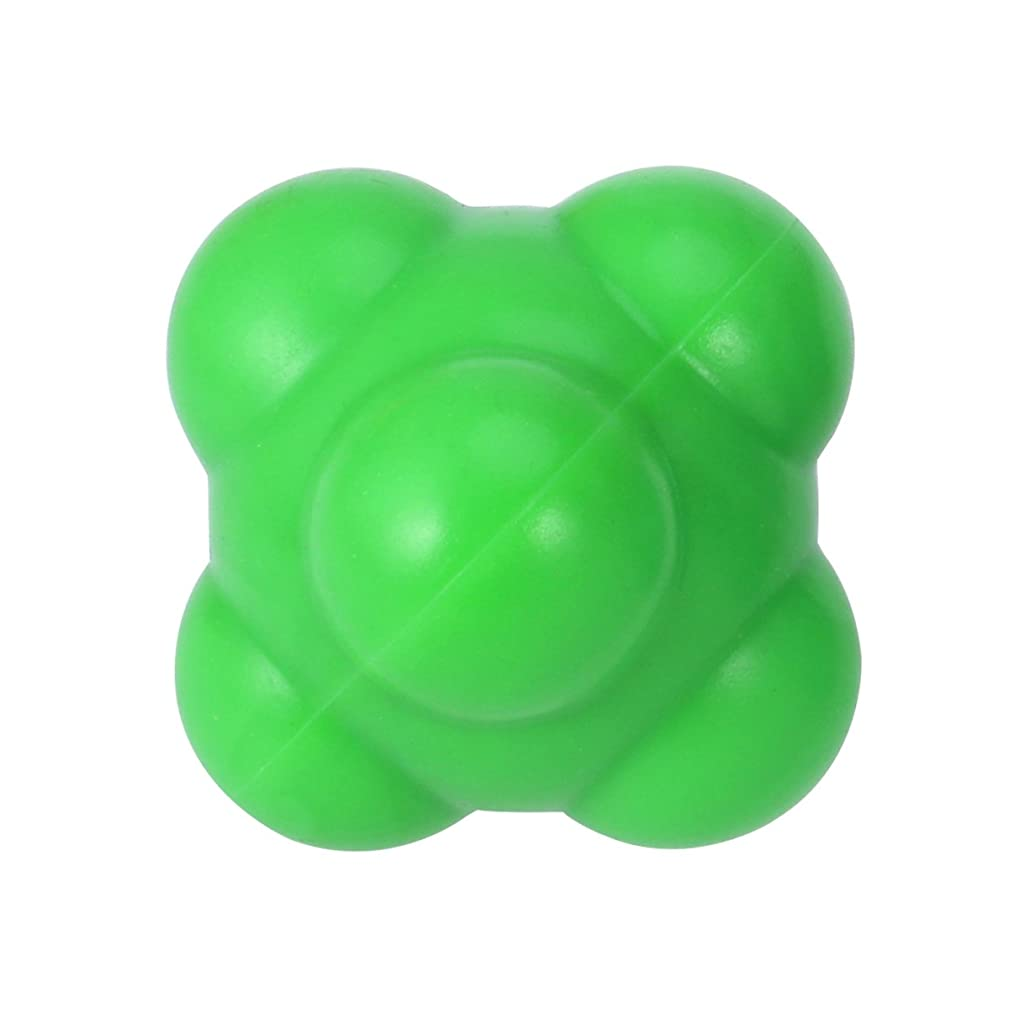 経験者札入れ大声でSUPVOX 反応ボール 敏捷性とスピードハンドアイ調整(グリーン)