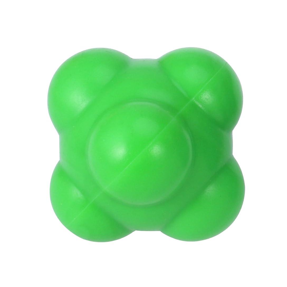 サービスしたがって正確さSUPVOX 反応ボール 敏捷性とスピードハンドアイ調整(グリーン)