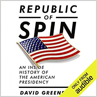 Republic of Spin audiobook cover art