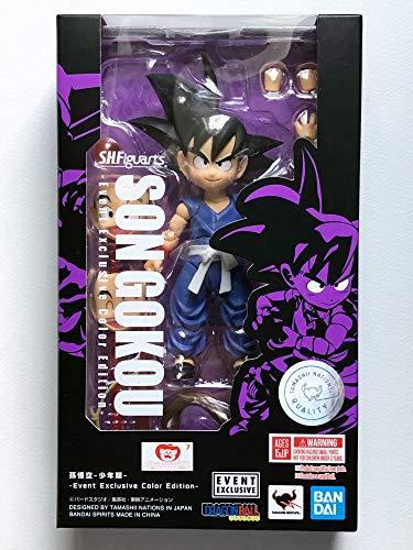 BANDAI Tamashii Nations SDCC 2019 Exclusive S.H. Figuarts Dragonball Son Goku Kid DBZ