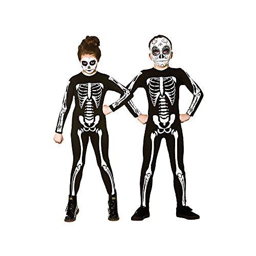 Wicked Costumes Kids Unisex Skeleton Jumpsuit Halloween Fancy Dress
