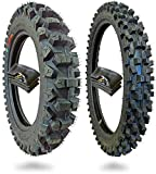 WIG Racing 110/90-19 and 80/100-21 Motocross Dirt Bike Tires With Inner Tubes