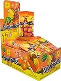 Pulparindots Mango - Dulce Mexicano - Bolas de Tamarindo Picante Sabor Mango - Caja de 12 sobres de 10 unidades
