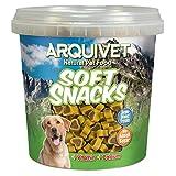Arquivet Soft Snacks para Perro Corazones de Pollo y Caza 800 g