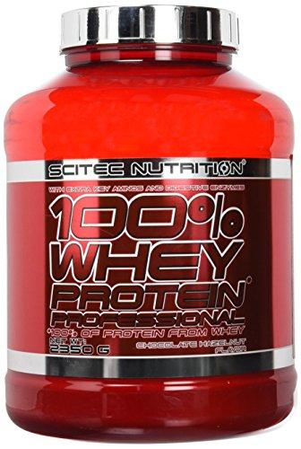 Scitec Nutrition PROTÉINE 100% Whey Protein Professional, chocolat-noisette, 2350 g