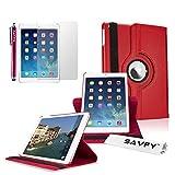 SAVFY Housse Compatible avec iPad Air 2 Housse de Protection en PU Cuir avec Rabat/Stand de...