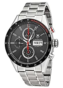 Tag Heuer Carrera Monaco Automatic Chronograph Steel Mens Watch CV2A1M.BA0796 Find Prices and Order Now!! and review