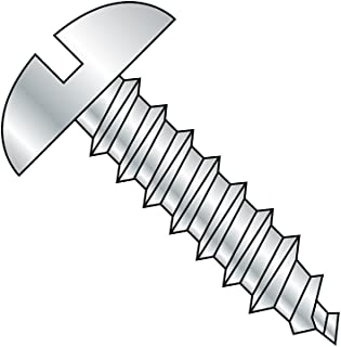 Wood Screws 18-8 #14 X 2 15 pcs AISI 304 Stainless Steel Oval Slot Drive