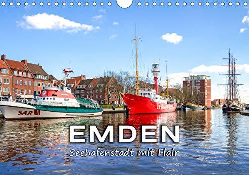 EMDEN Seehafenstadt mit Flair (Wandkalender 2021 DIN A4 quer)
