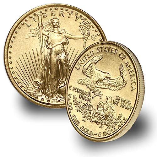 1986 – Present 1/10oz American Gold Eagle (Random Year) $5 Brilliant Uncirculated