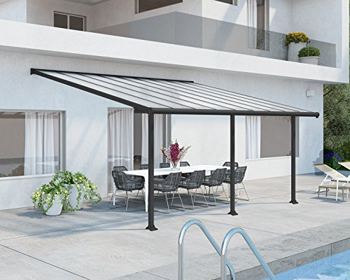 Palram Olympia Patio Cover (3 x 5.46, Grey)