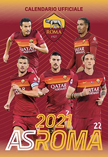 Calendario Roma 2021 cm 29x42 - prodotto ufficiale