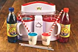 Lickleys Cono de Nieve Hielo Afeitadora / Granizado Hace Home Hielo Bebidas, Nieve Conos , Slurpees,( Negro Máquina Solo)