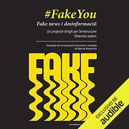Diseño de la portada del título FakeYou (Narración en Catalan)