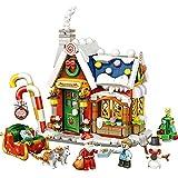 LOZ Christmas House Gift Mini Blocks Kids Building Toys DIY Puzzle (no Box)