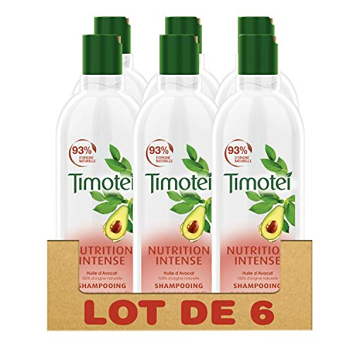 Timotei 2 in 1 Intensive Pflege Shampoo, 6er Pack (6 x 300 ml)