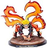 Patung Anime Tokoh Anime Naruto Rubah Ekor Sembilan Uzumaki Naruto Anime Model Karakter Boneka