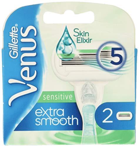 Gillette Venus Embrace Sensitive Rasierer für Damen, 2 Stück