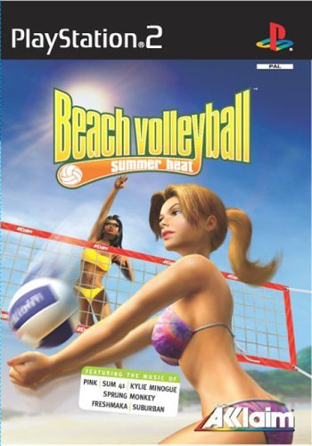 Summer Heat Beach Volleyball (PS2) by Acclaim