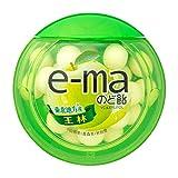 味覚糖 e-ma のど飴容器 王林 33g×12個(6×2) /青りんご