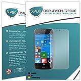 Slabo 2 x Bildschirmfolie für Acer Liquid Jade Primo Bildschirmschutzfolie Zubehör (verkleinerte Folien, aufgr& der Wölbung des Bildschirms) Crystal Clear KLAR - Made IN Germany
