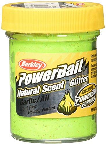 PowerBait Natural Glitter Forellenköder, Unisex-Erwachsene, Fishing Gear, Hellgrün