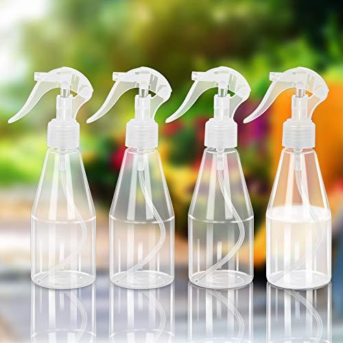 (4*200ML)CHIFOOM Botellas de Spray Vacías, Atomizador Spray, Spray de Botella Portátil para...