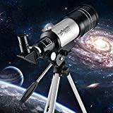 Jukkre F36050 Telescope 90X High Power Monoculars Refractor Type Space Astronomical Telescope