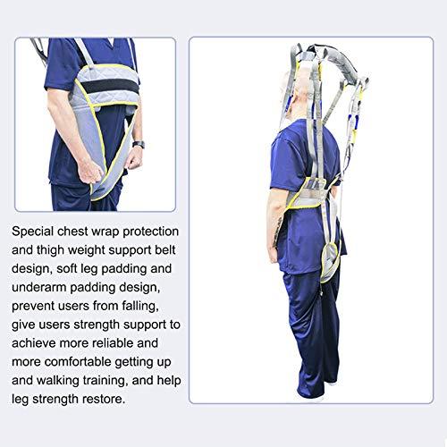 51zk6Hlm8YL - WLKQ Paciente Honda Levantador Grúa Paciente Cuerpo Completo Elevación Paciente Cabestrillo Malla De Seguridad Médica Eslinga De Elevación para Enfermería, Ancianos, Discapacitados