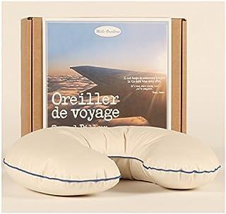 MILLE OREILLERS Oreiller de Voyage en Duvet d'Oie 35 x 30 cm