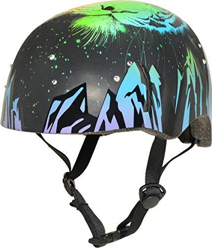 Krash ZeBrokeh Bling 8+ Helmet, Black