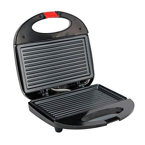Chef Turk Schnelle Heizung Streifen Waffel Sandwich Frühstück Maschine Muffin-Maschine Startseite Gegrilltes Steak Grill Maschine Panini-Maschine 23 * 23 * 7,5 cm