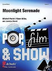 Moonlight serenade concert band/harmonie -partition+parties separees