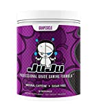 Grapesicle - Juju Professional Grade Gaming Energy Drink Mix with Natural Caffeine, Increase Focus, Energy, Reaction Time, Eye Health, Sugar-Free, Keto