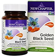 New Chapter Black Seed Oil - Golden Black Seed + Turmeric for Healthy Mood + Healthy Blood Sugar + Healthy Weight