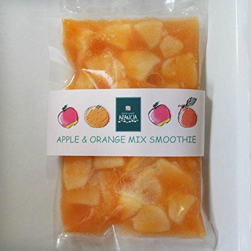 【冷凍便】和歌山産「みかん&りんごスムージー」農家さんから直接分けてもらうくだもの(みかん+オレンジ+りんご+レモン+みかんの花の蜂蜜)のフローズンフルーツジュース・冷凍果物