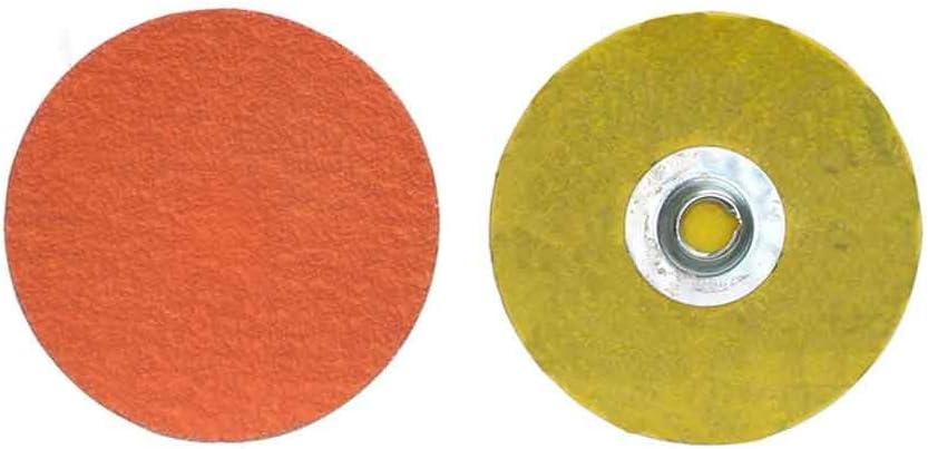 Norton 66261043382 2 in. Blaze Nashville-Davidson Mall Quick-Change Discs Coated 100 San Jose Mall Gr