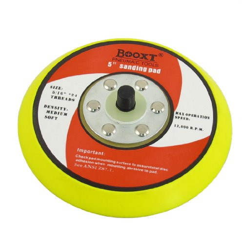 """IIVVERR 5/16"""" Thread 5"""" Grinding Machine Wheel Sanding Pad (5/16' 'Rosca 5' 'Almohadilla de lijado de la máquina de esmerilado"""