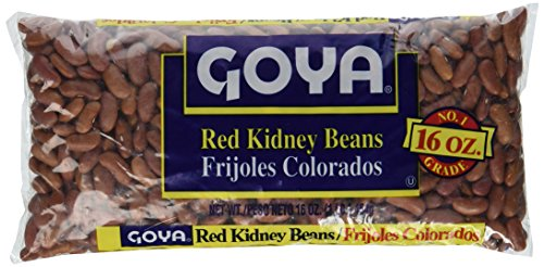 Goya Red Kidney Beans Dry 1Lb (3-Pack)