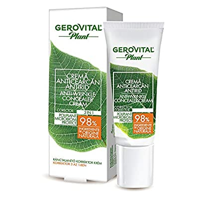 Gerovital Plant Anti-Wrinkle Concealer Cream Microbiom Protect, 15 ml by Farmec