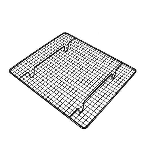 Griglia di raffreddamento per artigianato da cucina Griglia metallica antiaderente per griglia metallica Premium Grillrost per biscotti e torte da forno Raffreddamento grigliato fumo, 26x23 cm