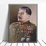 Gerahmt Stalin Portrait Poster Wohnkultur Stalin Bild Büro