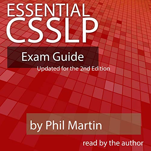 Essential CSSLP Exam Guide: Updated for the 2nd Edition audiobook cover art