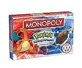 HEHEERHUO Pokemon Monopoly-Versione Kanto del Gioco di...