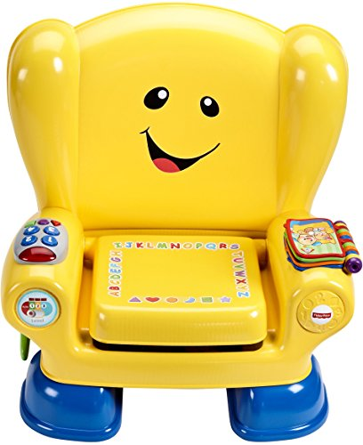 Fisher-Price Laugh & Learn Smart Stages Chair, Yellow Now $15 (Was $30.99)